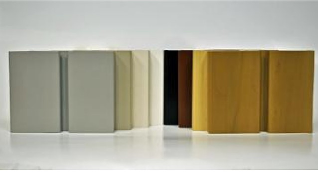 Handiwall Slatwall Pvc 8 Color Choices Made In Usa