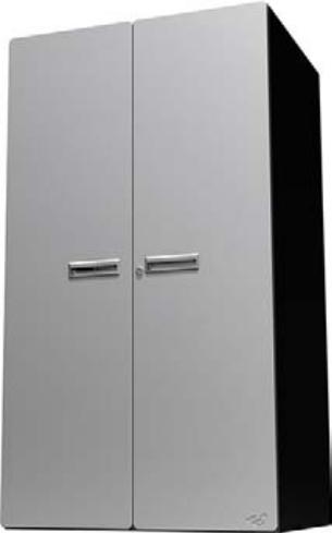Hercke Cabinets - Stainless Steel & Powder Coated Metal