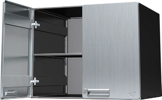 Hercke 30w X 24d 24h Upper Deep Storage Cabinet Stainless Steel Or Powder Coat View Images