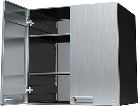 Lovely Hercke 30W X 24D X 30H Upper Deep Storage Cabinet   Stainless Steel Or  Powder Coat. View Images