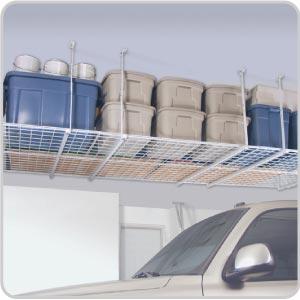 High Quality Overhead 4u0027 X 4u0027 Storage Unit. View Images