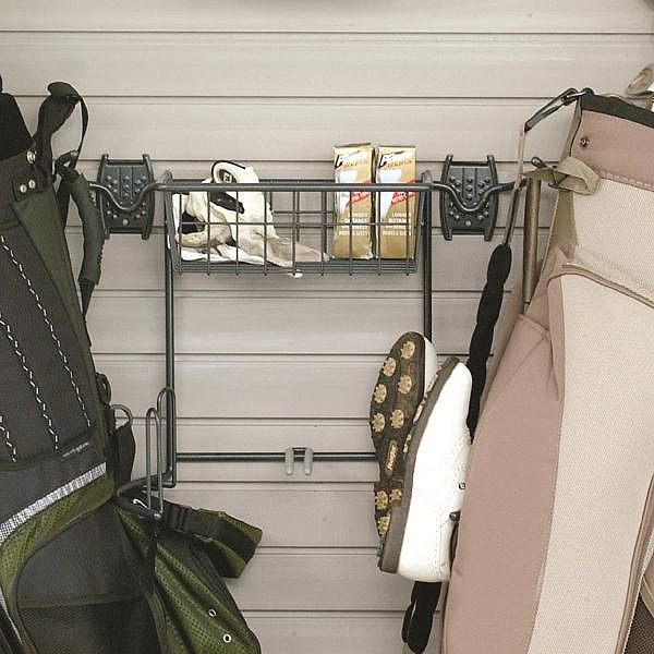 Organized Living   Schulte 7115 5010 50 Golf Bag Holder U0026 Basket. View  Images