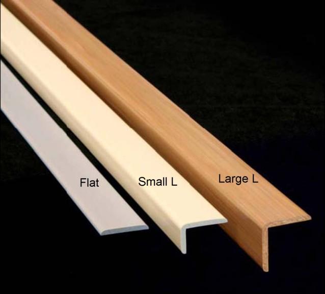 Storewall Slatwall Tr Sml Small L Trim Molding