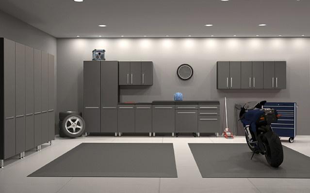 storage black yhst two twoblackmetalga metal lockers garage