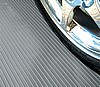 Parking Pad Garage Floor Covering - 10' x 24' Ribbed Pattern