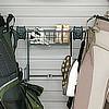 Schulte 7115-5010-50 Golf Bag Holder & Basket