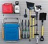 Garage Slatwall Storage Accessory Kit