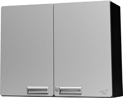 Hercke 30W x 12D x 24H Overhead Storage Cabinet - Stainless Steel or Powder Coat