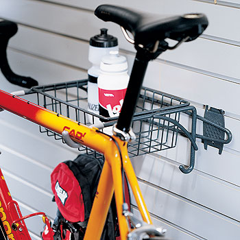 Organized Living - Schulte  7115-5040-50 Bike Rack With Basket