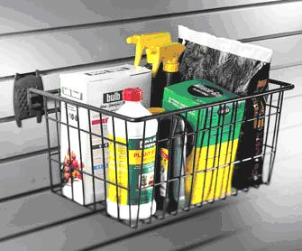 "Organized Living - Schulte  7115-5630-50 The Big Wire Basket 16""w x 12""d x 8""h"