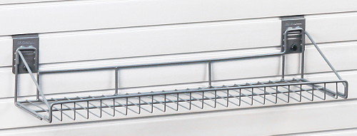 "StoreWALL Small Wire Shelf  7.5""H x 30""W x 9.5"" D  - PACK OF TWO SHELVES"