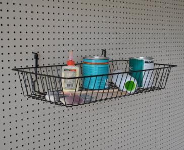 "B-B11 Wire Basket-Shallow  24""w x 12""d x 4""h - Pack of Two"