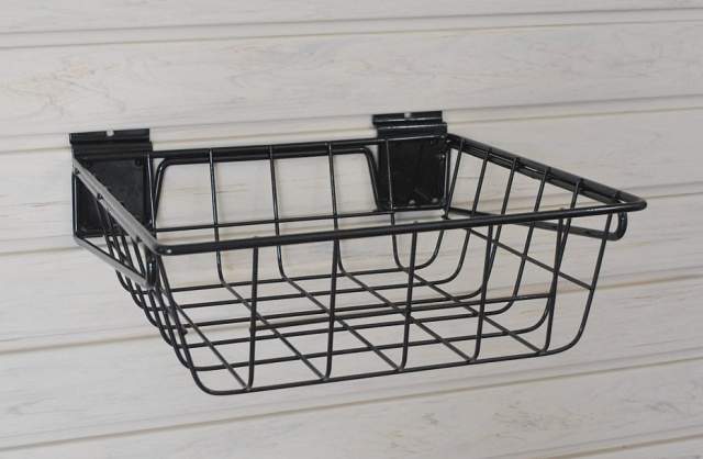"OT-BSK-Small Wire Basket -12""w x 12""d x 4""h - PACK OF TWO"