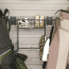 Organized Living - Schulte  7115-5010-50 Golf Bag Holder & Basket