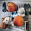 Organized Living - Schulte  7115-5070-50 Multi Sports Rack & Basket